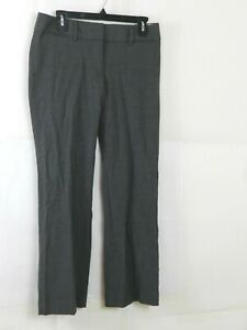 Ann Taylor LOFT Career marisa Trouser dress Pants Womens  Gray Size 4 Petite
