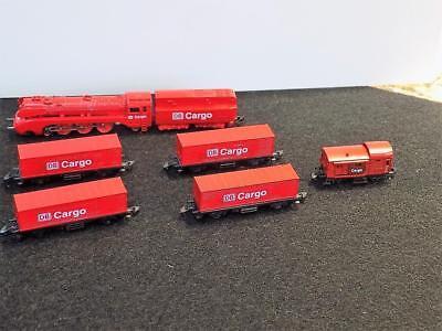 Affidabile Marklin Z Scala Custom Marklin 8888 Db Cargo Set Treno One Of A Kind