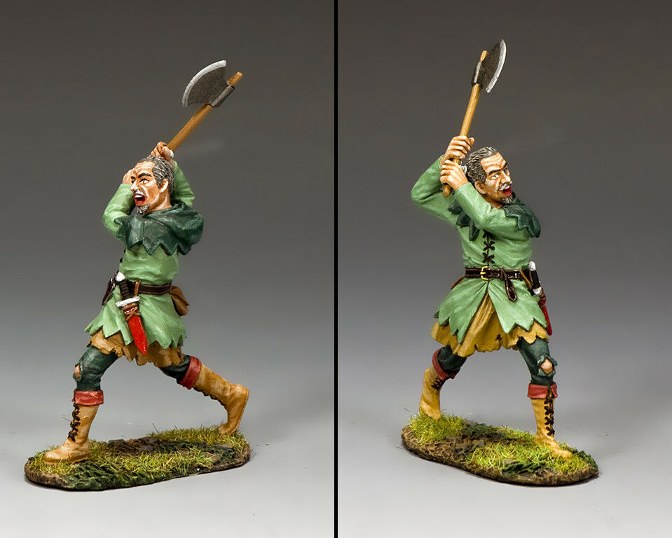 King and Country RH043 Owen of Oxley NIB 1 30 Scale