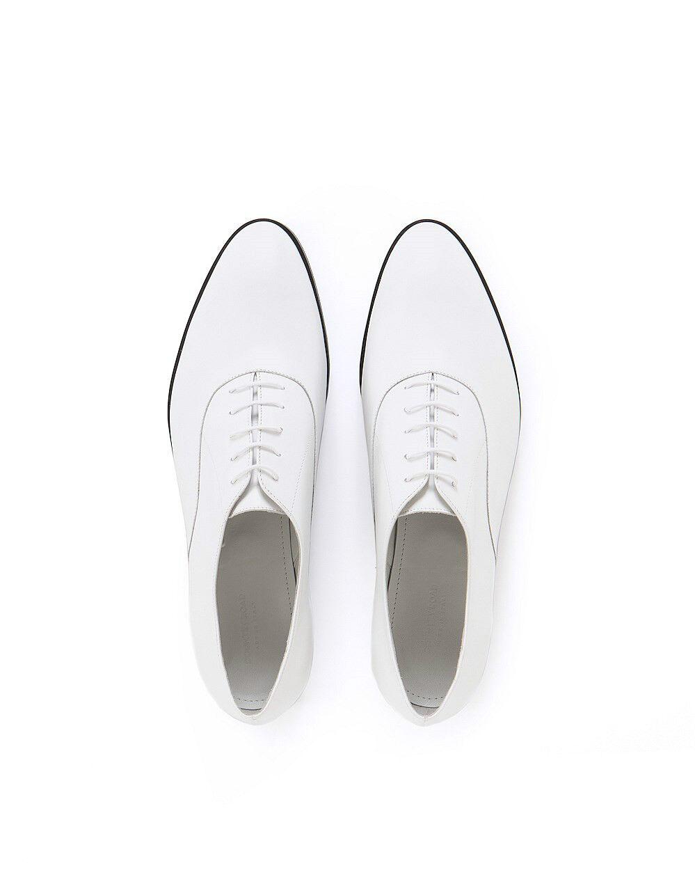 NIB 149 Designer COUNTRY ROAD Genuine Leder Oxford Schuhes Italian Made IT38-40