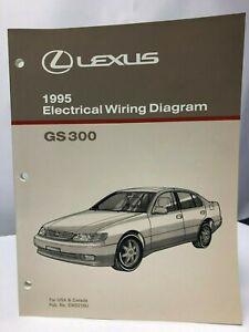 1995 LEXUS GS 300 Electrical Wiring Diagram GS300 OEM | eBay