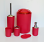 6-PIECE-BATHROOM-ACCESSORIES-SET-BIN-SOAP-DISPENSER-TOOTHBRUSH-TUMBLER-HOLDER thumbnail 2