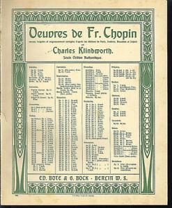 Chopin-034-Walzer-Op-34-No-1-in-Fis-dur-uebergrosse-alte-Noten