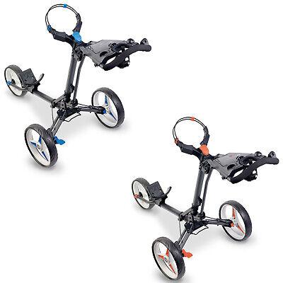 2019 Motocaddy P1 3-Wheel Push Golf Trolley - Foldable Lightweight Buggy  Cart | eBay
