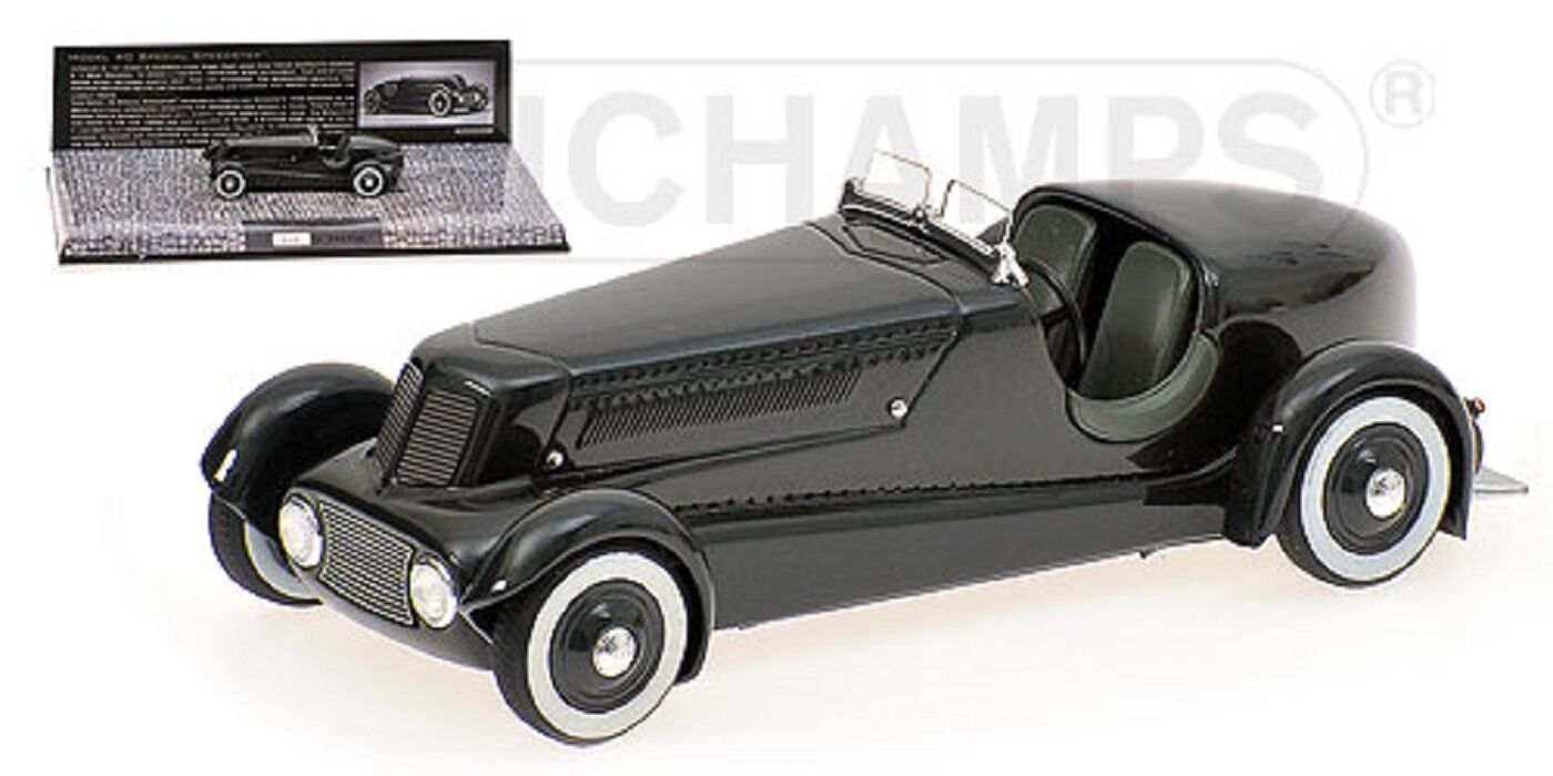 1 43 FORD EDSEL ROADSTER 1934 green L.E 999 MINICHAMPS 437082080 OVP new