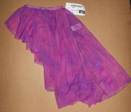 NWT Ballet Skirt Print Lila  Watercolors Ch//Ladies highlow Main Street Dancewear