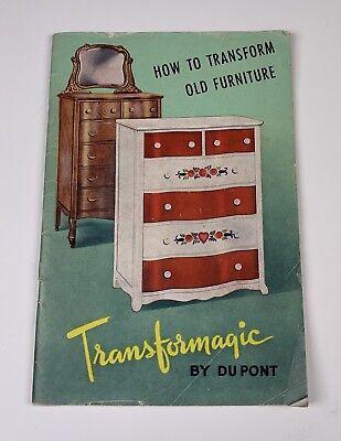 Vintage Du Pont Paint How To Transform Old Furniture 1945 Ebay