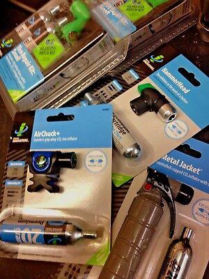 Genuine Innovation Comfort Grip CO2 Inflator AIR CHUCK bike pump