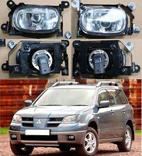 Front Fog Lights Lamp Set Left + Right fit MITSUBISHI Outlander 2003-2006
