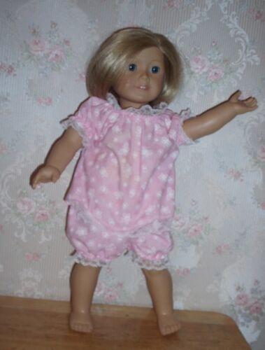 Homemade sleepwear for 18 inch doll like American girl