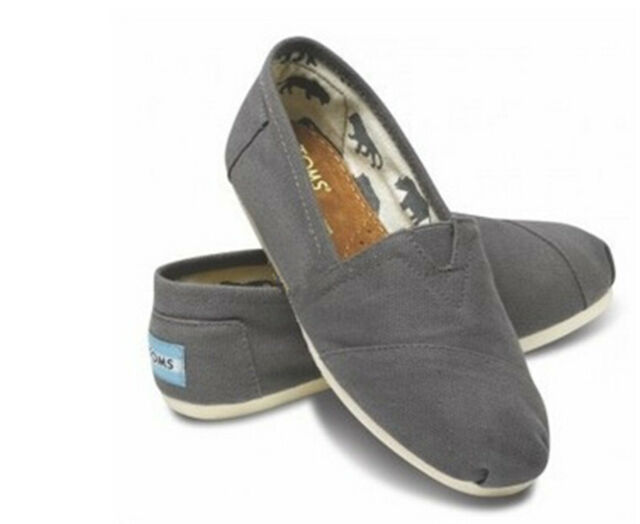 New Women Men's Shoes Slip-on Casual Flats Solid Canvas Leisure Loafer Shoes #fa
