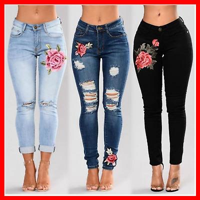 Pantalon Jean De Moda Ropa Para Mujer Colombianos Levanta Cola Vaqueros Ebay