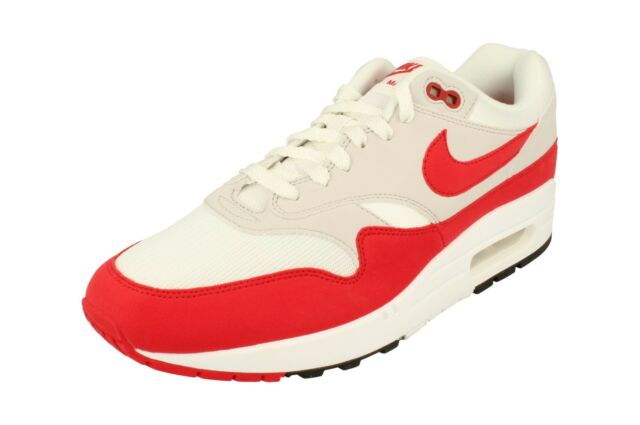new styles 55acc 24f62 Nike Air Max 1 OG 30th Anniversary University Red White 2018 Men DS  908375-103