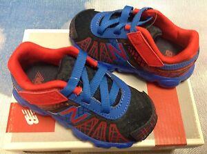 293b53cc1d142 New Balance Kids 890V Spider-Man Lightweight Running Shoes Toddler ...