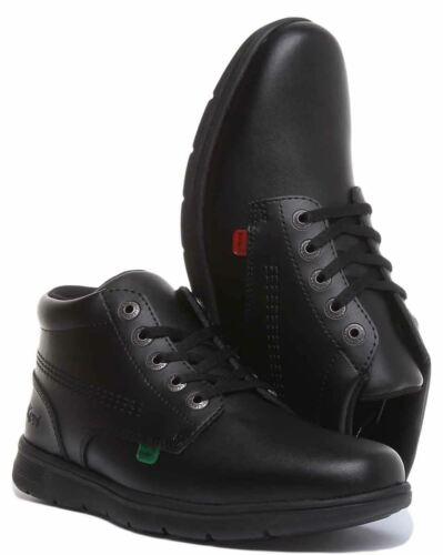 Kickers Kelland Lace Bt Kelland Lace Hi Boots In Black Size UK 3-6