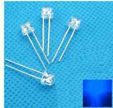 1000pcs F5 5mm Blue Straw Hat Superbright Led Light Led Lamp