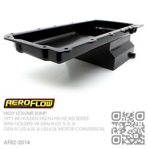 AEROFLOW-5-5L-HIGH-VOLUME-SUMP-GM-V8-GEN-III-LS1-5-7L-HOLDEN-HQ-HJ-HX-HZ-WB
