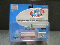 N Safeway Foods White Wc Tractor/refrig.trailer Set - Classic Metal Works 51148
