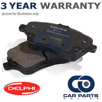 Fits Toyota RAV4 MK2 2.0 VVT-i 4WD Genuine Delphi Rear Brake Pad Accessory Kit