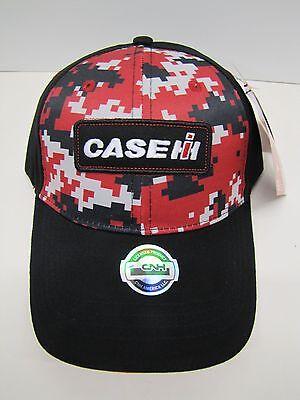 Case IH Digi Red Camo Youth Cap