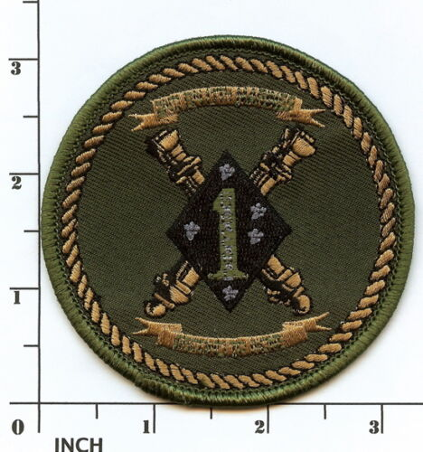 PATCH 2//11 2nd Battalion//11th Marines ARTILLERY USMC 2d Bn//11th Mar subdued OD