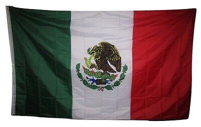 1.5mx8 'mexiko Mexikanischer Flagge 1.5x2.4m Fahne Groß Verblassen Beständig