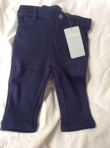 Size 2-3 years NWT Boys too. Navy JoJo Maman Bebe Girls Jersey Jeans