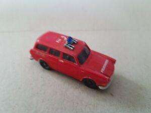 Wiking H0 1:87 VW 1500 Variant Feuerwehr gebraucht guter Zustand