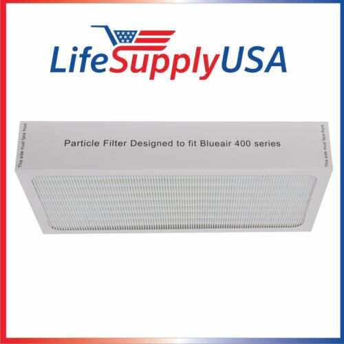 NEW Air Purifier Filter fits ALL Blueair 400 Series Models By LifeSupplyUSA