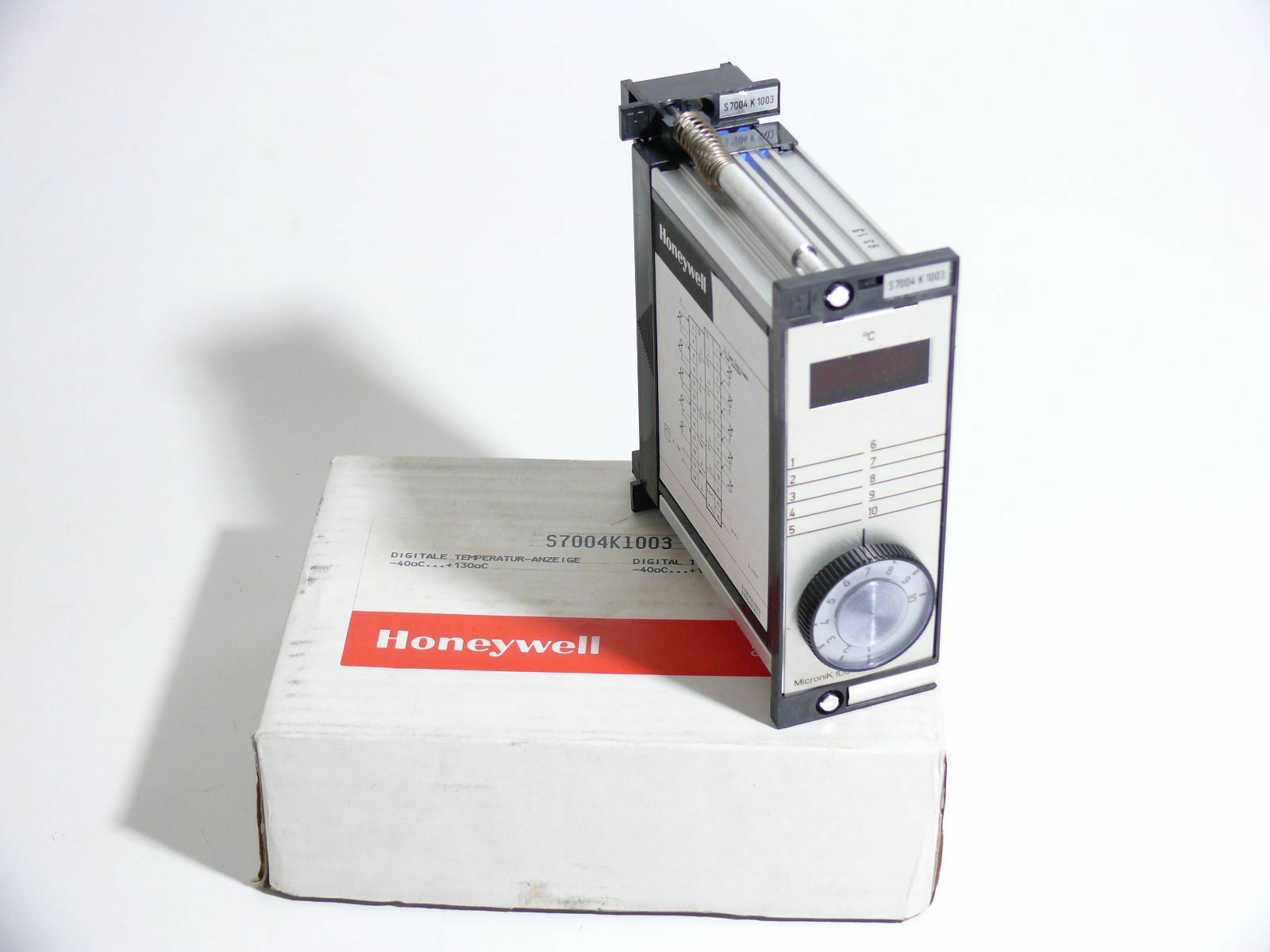 HONEYWELL Digitale Digitale Digitale Temperatur-Anzeige Micronik S7004K1003    07bd03