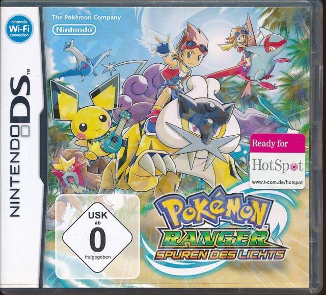 Pokémon Ranger: Spuren des Lichts (Nintendo DS) Neuwertig