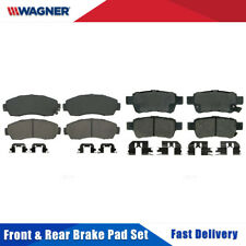 Front /& Rear 8 PCS Wagner Disc Brake Pads Set For HONDA ODYSSEY 2002 2003 2004