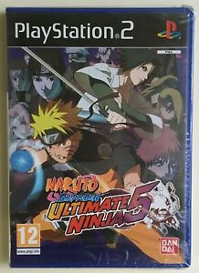 Naruto-Shippuden-Ultimate-Ninja-5-PlayStation-2-Factory-Sealed-Ultra-Rare-NEW