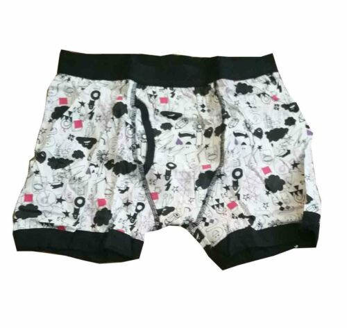 Modern Casuals Mens Novelty Open Fly Mens Boxer Shorts