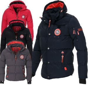 Canadia-Peak-Geographical-Norway-Herren-Winter-Jacke-Parka-warm-gefuettert-Jacke