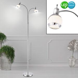 2er Set LED Wand Flexo Spot Strahler Büro Lampe Lese Leuchte Schlaf Zimmer Bad