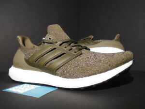 71ba300cb400 ADIDAS ULTRA BOOST 3.0 TRACE OLIVE GREEN KHAKI WHITE BLACK NMD R1 PK ...