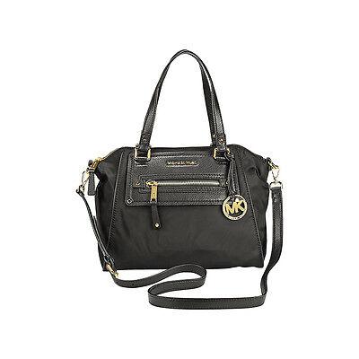 Michael Kors Gilmore Medium Satchel Handbag in Black