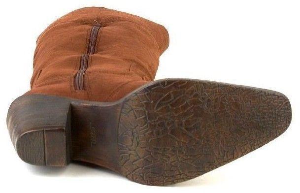 New STEVE MADDEN Damens Knee High Tall Western Schuhe Cowboy Side Zip Boot Schuhe Western Sz 6 M e72ba4