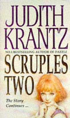"""AS NEW"" Scruples Two: Fifteen Years Later, Krantz, Judith, Book"