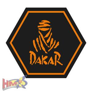 Details Zu Hm Dakar Aufkleber 2stück 14 X 125 Cm Schwarz Orange Ag 0090 St