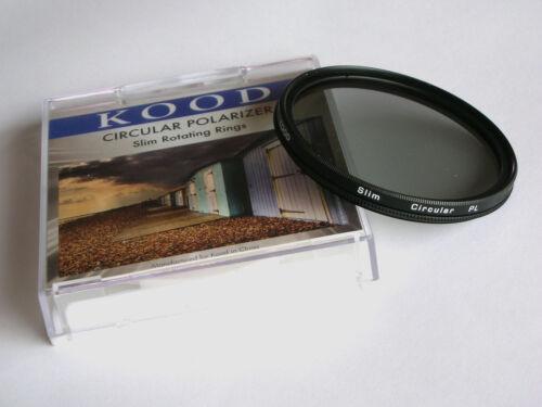 Kood 58mm Super delgado de Monte Filtro Polarizador Circular C-pl Plc Cpl