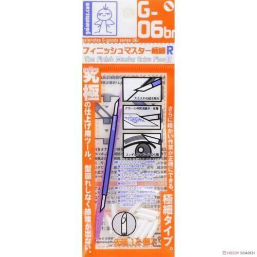 Gaia G-06r//G-06br Finish Master Fine Eraser Cotton Brush Gundam Model Kit Tool
