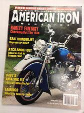 American Iron Magazine S&S Thunderjet ATCO Shoot Out January 1993 031017NONRH