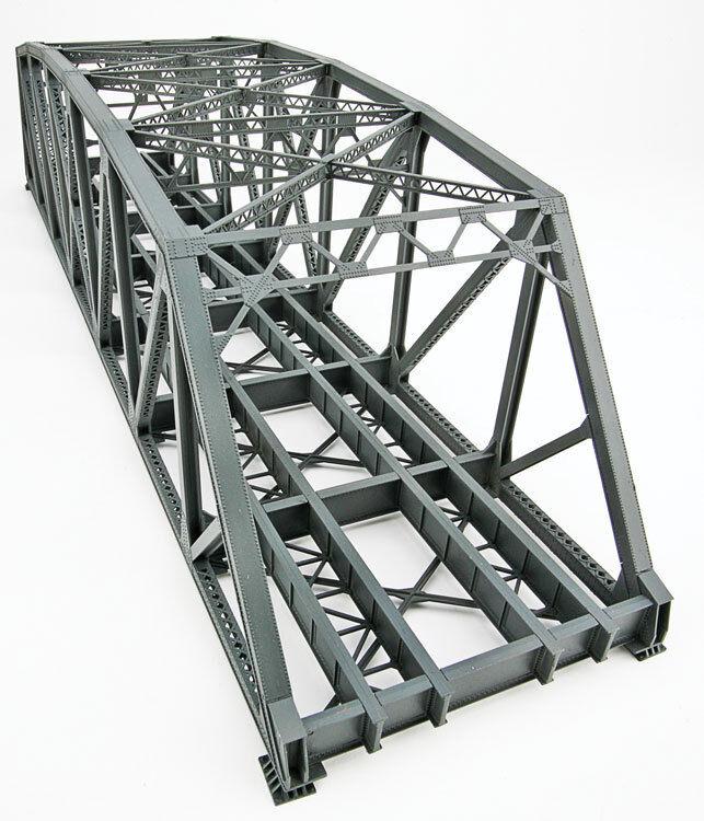 Pista h0 -- kit gran puente puente ferroviario van en ambos sentidos - 4522 nuevo