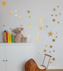 176-Pcs-5-Size-Stars-Removable-Wall-Sticker-Kids-Baby-Room-Decor-Art-Mural-Decal