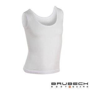 Brubeck Body Guard Girls Sleeveless Vest Comfort Cotton Seamfree Baselayer