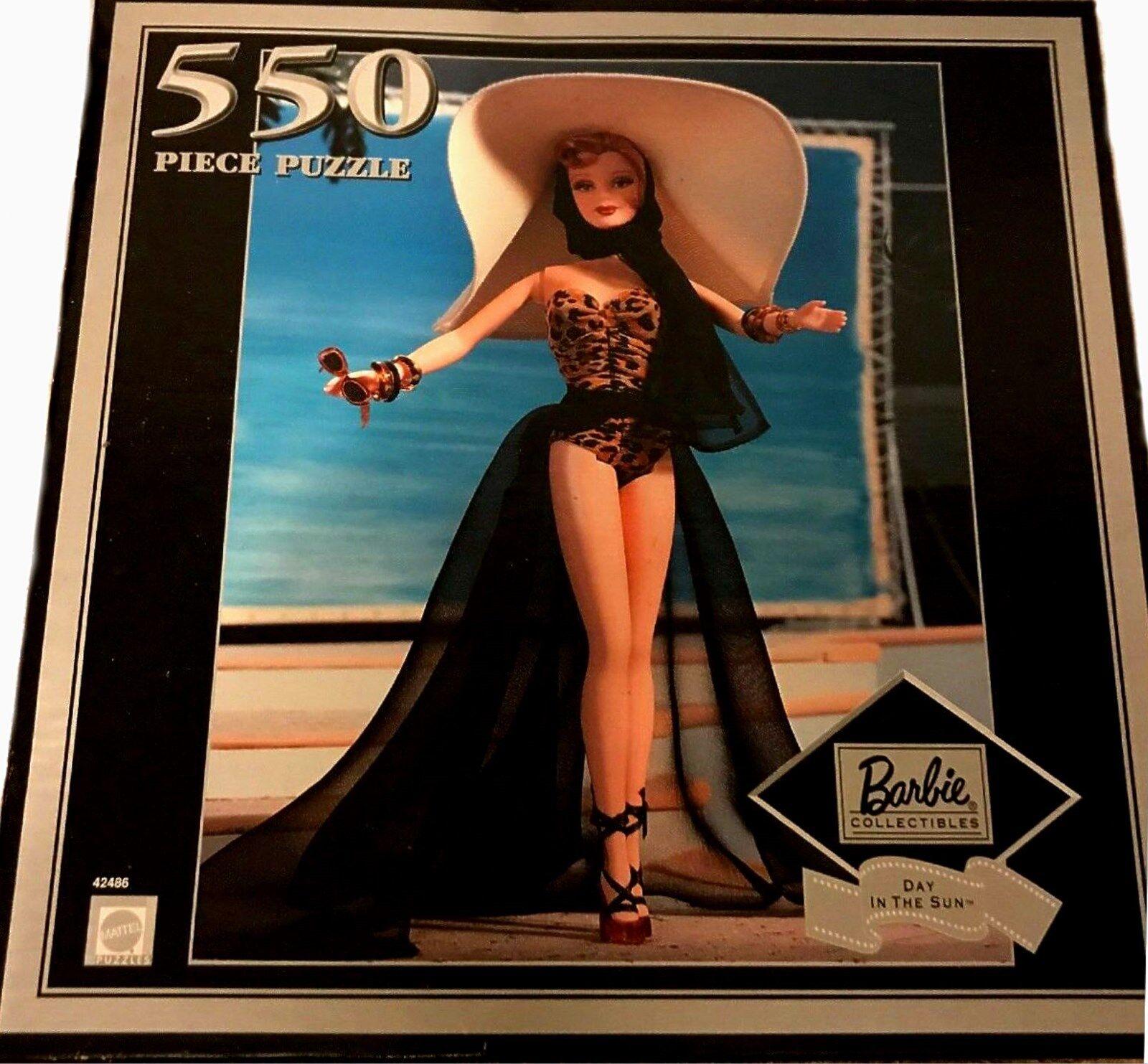 Barbie - puzzle - tag in der sonne blondhead 550 stck fabrik versiegelt neue 2000