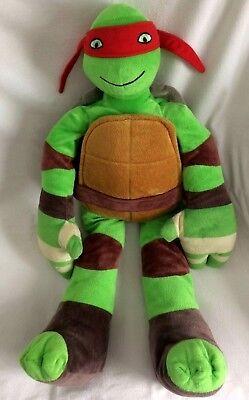 NEW Nickelodeon Teenage Mutant Ninja Turtles Pillowtime Pal Pillow Raphael plush