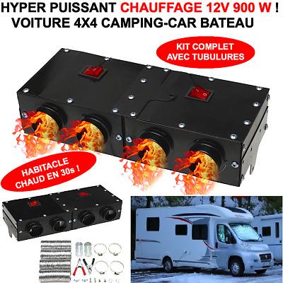 Cyklon Radiateur Soufflant pour voiture Ventilateur Chauffage 12 V 120 W